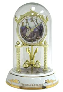 Thomas Kinkade Anniversary Clock, Morning Glory Cottage