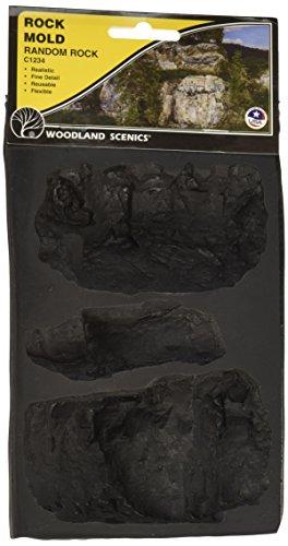Woodland Scenics Rock Mold Random - Scenics Rock Woodland Mold