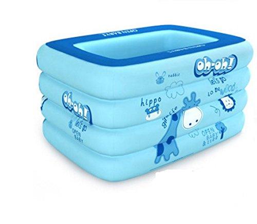 Baby Schwimmbad/Aufblasbare neue im Schwimmbad für junge Kinder/Babyschwimmen Fässer/Freizeitbad/Verdickte Familie Planschbecken-C