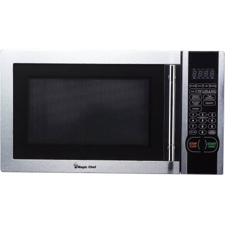 Magic Chef 1.1 cu. ft. Digital Microwave – Stainless Steel