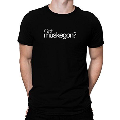 遡る期待する折り目Got Muskegon? Tシャツ