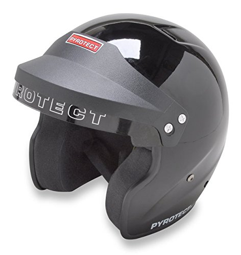 Pyrotect 961099 Sportsman M2010 Open Face Helmet, X-Small, Black