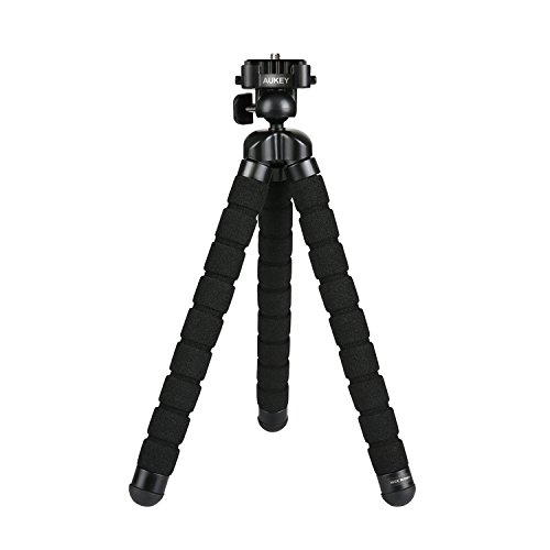 AUKEY iPhone Tripod with Flexible Legs, Two 1/4...