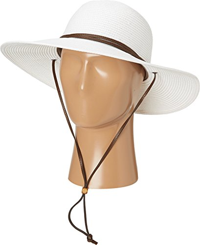 Columbia Womens Global Adventure Packable Hat, White, Small/Medium