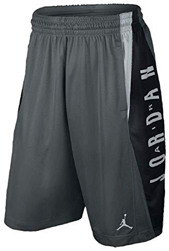 Nike Jordan Boys' Takeover Basketball Shorts Dri-Fit (Large, Cool -