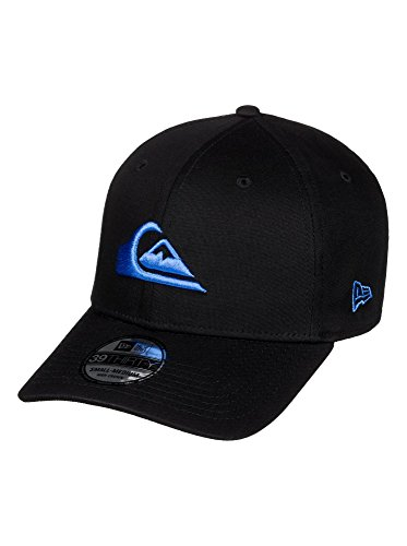 Quiksilver Stretch Hat (Quiksilver Mens M & W Black M Hats Flexfit Hat Large/X-Large Imperial Blue)