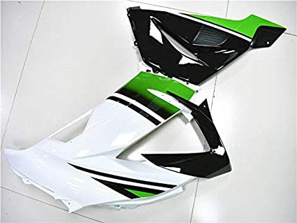 New Green White Fairing Fit for Kawasaki Ninja 2013-2018 ZX6R 636 ZX-6R Injection Mold ABS Plastics Aftermarket Bodywork Bodyframe 2014 2015 2016 2017 13 14 15 16 17 18