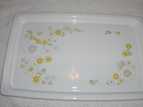 Pyrex Corning Ware Floral Bouquet Approx. 14x9 Buffet Tray