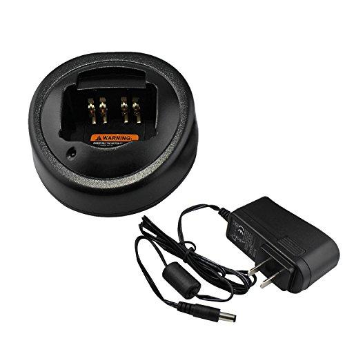 abcGoodefg 2 way Radio Ni-MH Ni-CD Li-ion Battery Charging Dock Desktop Charger For Motorola Radios GP328 GP388 HT750 HT1250 MTX950 PRO5350 PTX760 EX500 GL2000 by abcGoodefg