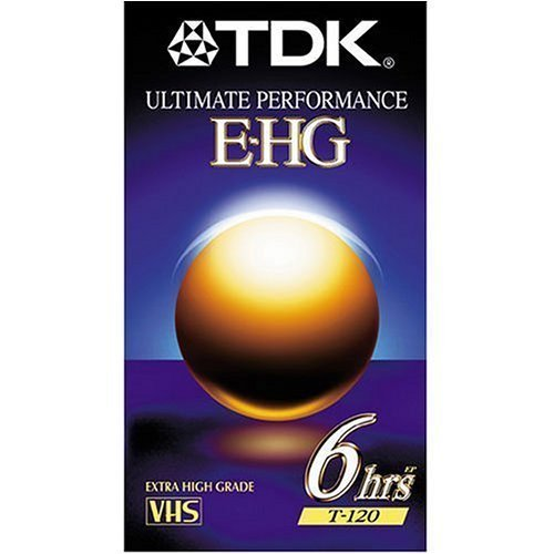TDK 9 Pack Extra High Grade T-120 Video Tapes by TDK