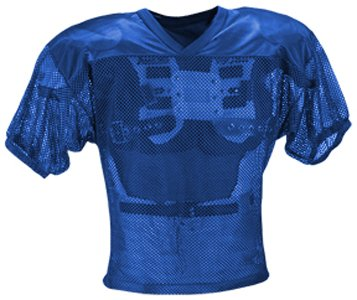 Adams Youth Porthole Mesh Practice Football Jersey
