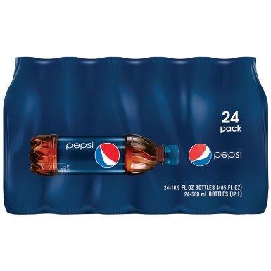 (Pepsi Cola Soda, 16.9 Ounce (24 Bottles))