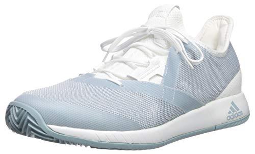 adidas Women's Adizero Defiant Bounce, ash Grey/White, 5 M US by adidas (Image #1)