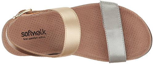 Multi Women's Sandal Metallic Wedge Hart SoftWalk Xd7qX