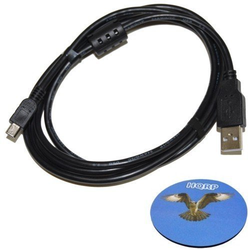 HQRP Long 6ft USB to Mini USB Cable for Garmin nuvi 40 / ...