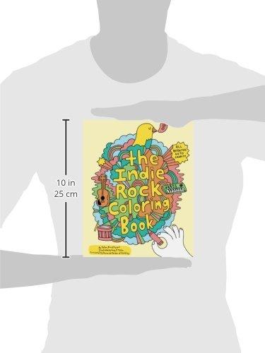 indie rock coloring book - The Indie Rock Coloring Book