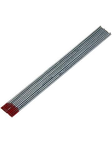 10pcs Electrodos De Tungsteno Para Soldador 1,6 X 150 Mm