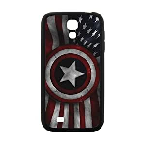Captain America's Shield Brand New And High Quality Hard Case Cover Protector For Samsung Galaxy S4