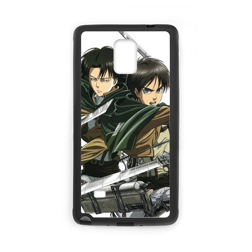 Fayruz- Personalized Attack On Titan Protective Hard Rubber Phone Case for Samsung Galaxy Note 4 Note4 Cover I-N4O186