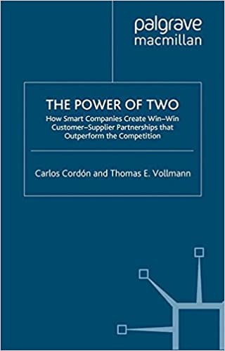 Book The Power of Two: How Smart Companies Create Win:Win Customer- Supplier Partnerships that Outperform the Competition