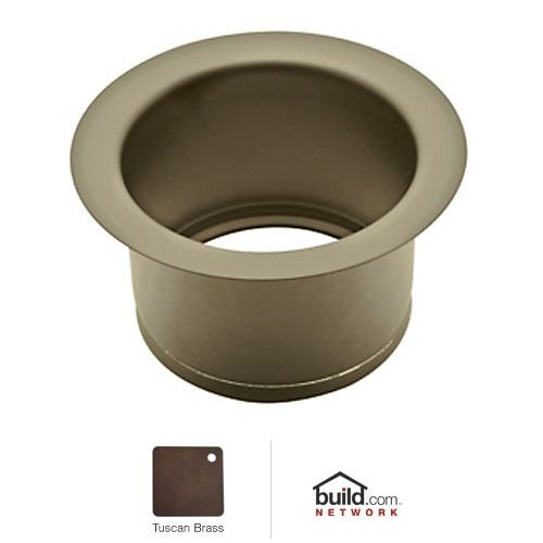 UPC 824438026544, Rohl ISE10082TCB 2-1/2-Inch Extended Throat for Fireclay Sinks and Shaws Sinks in Tuscan Brass