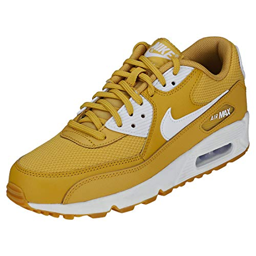 Brown Multicolore Chaussures de Air 701 Gymnastique Nike Gum 90 Max White WMNS Beige Femme Wheat Light White Gold x1BqZp