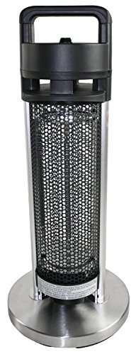 HeTR H1013UPS Indoor/Outdoor Rated Radiant Tower Heater, 24-Inch