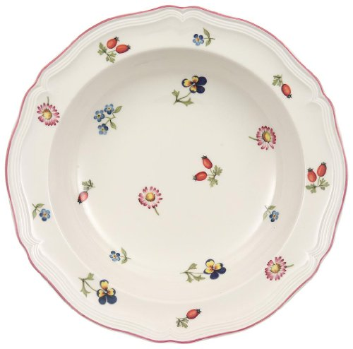 Villeroy & Boch Petite Fleur Rim Cereal Bowl - Fleur Cereal Bowl