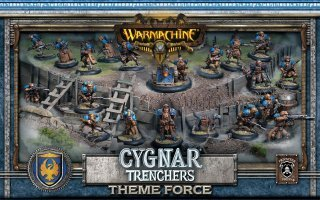 Cygnar Trencher Theme Force - PIP 31901