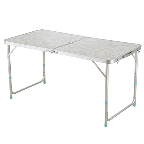 Pevor 4u0027/1.2M Folding Table Fold In Half Camping Table Outdoor