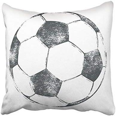 ZGNNN-EU - Funda de cojín con diseño de balón de fútbol en Letras ...