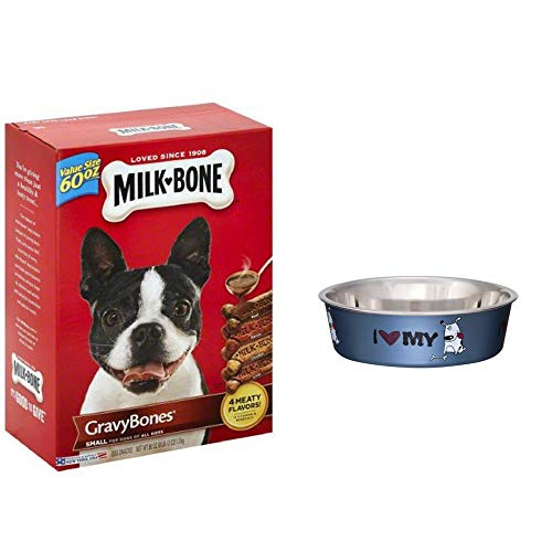 Milk-Bone GravyBones Dog Biscuits - Small, 60-Ounce