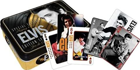 Elvis Gold Playing Card Gift (Elvis Presley Tin)