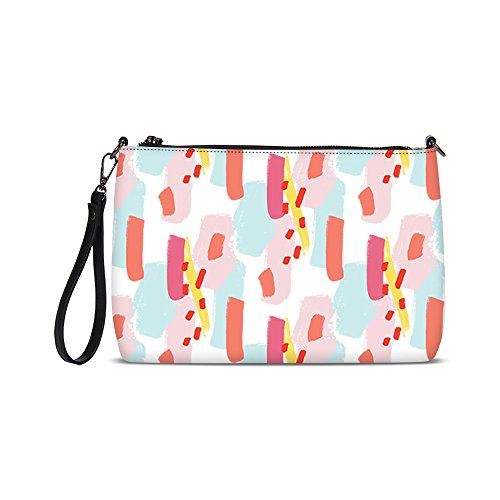 Etype Women Envelope Cross Body Bags Clutch Purse Handbags Wristlets for Ladies (Floral Wristlet)