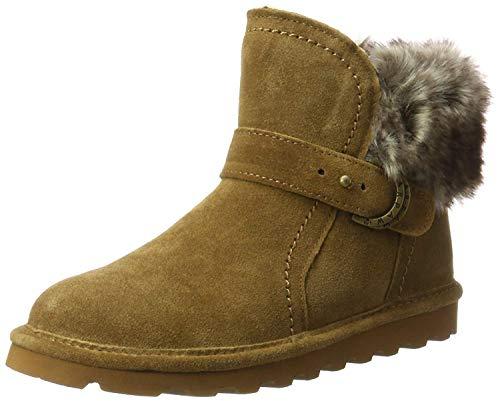 Bearpaw Sheepskin Boots - BEARPAW Women's Koko Hickory/Tipped 9 M US