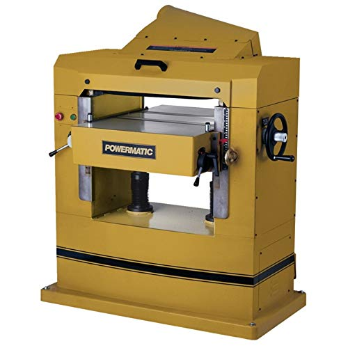 Powermatic 1791267 Model 201HH 22-Inch 7-1/2 HP 1-Phase Planer with Helical Cutterhead
