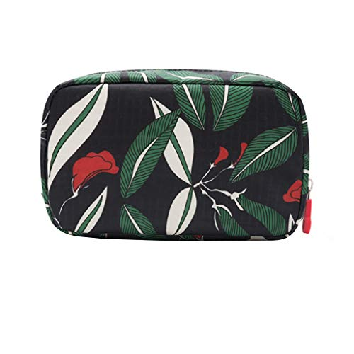 Wffo Waterproof Women's Cosmetic Bag Multifunctional Travel Make Bag Beauty Specialist Portable Cosmetic Bag (B)