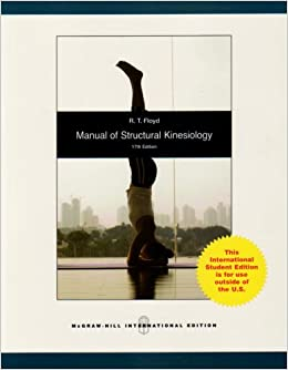 Manual of structural kinesiology r t floyd 9780071285360 amazon manual of structural kinesiology r t floyd 9780071285360 amazon books fandeluxe Images