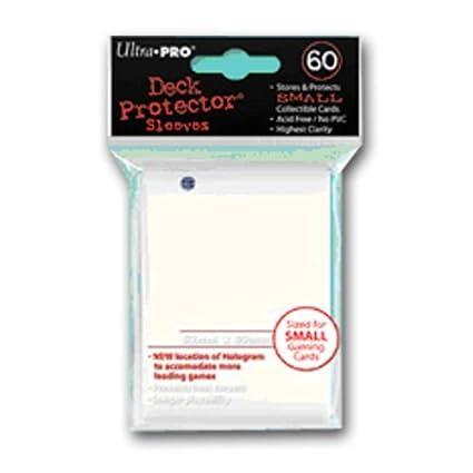 Ultra Pro Deck Protector Lot de 60/Petites Pochettes de Protection pour Cartes