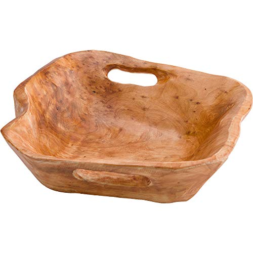 Root of The Earth Handled Serving Bowl - Approx. 4 H x 9-10 Diameter