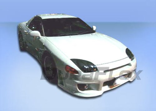 Duraflex Replacement for 1994-1998 Mitsubishi 3000GT Dodge Stealth Version 1 Front Bumper Cover - 1 Piece