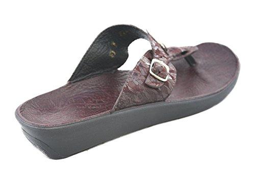 Ana-tech Gjort I Usa Slip I Thong Sandal Huda Läder 43-medium