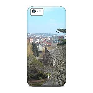 For Iphone Case, High Quality Cork City For Iphone 5c Cover Cases