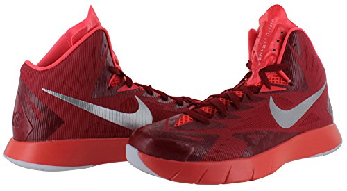 Nike Lunar Hyperquickness TB Hombre Rojo Talla 44 EU Nuevo