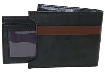 The Vegan Collection Garnett Men's Black Bi-Fold with Card Holder