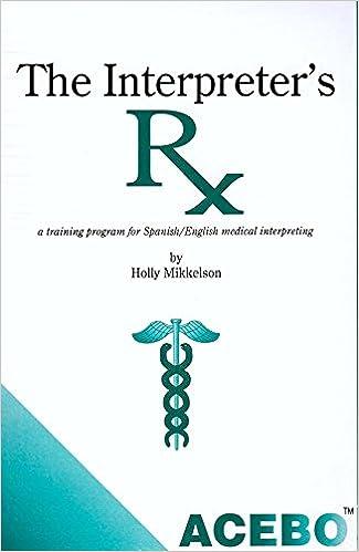 Amazon.com: Interpreter\'s Rx (9781880594117): Holly Mikkelson: Books