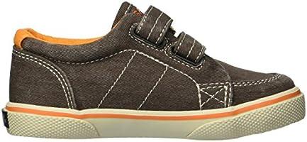 Sperry Boys Halyard H/&L Sneaker Brown Saltwash 6 Wide US Toddler