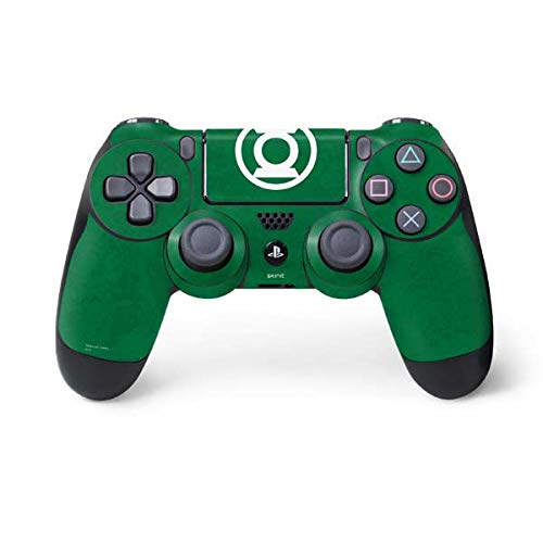Skinit Green Lantern Logo Green PS4 Controller Skin - Officially Licensed Warner Bros Gaming Decal - Ultra Thin, Lightweight Vinyl Decal Protection -
