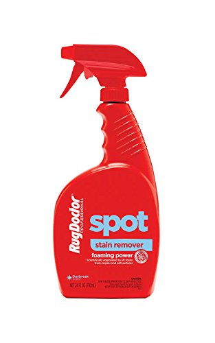 Rug Doctor Professional Grade Spot and Stain Remover Spray - Foaming Power Deep Cleans and Eliminates Stains, Nontoxic Formula is Safe Around Kids and Pets –Spray Nozzle with Foaming Action, -