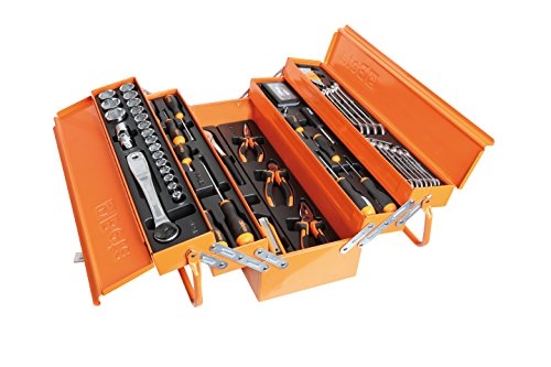 Box Tool Beta (Beta Tools BETA EASY CANTILEVER TOOL BOX WITH 91 PCS OF GENERAL MAINTENANCE TOOLS)